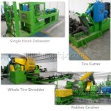 Full-Automatic Used Tyre Recycling Machinery to Rubber Powder