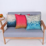 Digital Print Decorative Cushion/Pillow with Botanical&Floral Pattern (MX-84)