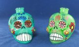 Tequila Liquor Skull Glass Bottle (750ml/50ml)