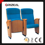 Orizeal Good Quality Wood Frame Conference Hall School Auditorium Chair Cheap Wooden Theater Seats First Time Offered (OZ-AD-239)