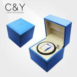 Single Sky Blue PU Leather Watch Winder