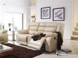 Modern Leather Recliner Sofa (924)