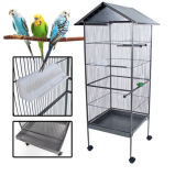 Manufacturing Big Metal Parrot/Pet/Breeding/Bird Cage with Removable Cover Bc101