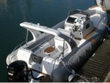 Liya 27ft Cabin Inflatable Rib Boat with Two Engines