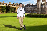 Boys New Design School Uniform White Blazer