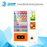 Advertising Screen Automatic Vending Machine for Selling Snack&Beverage&Combo