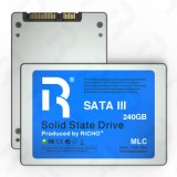 2.5inch Sataiii SSD, 240GB, Silver Metal Shell