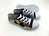 Latest Model Women Injection Cloth Shoes Canvas Shoes (HH150512 (1)