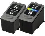 Original Compatible for Canon Color Ink Cartridges Pg40 Cli41
