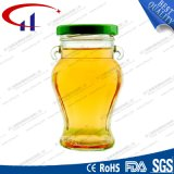 Popular High Clear Glass Jar with Lid (CHJ8237)