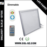 High Brightness 36W 2600lm Dimmable Extreme Flat 600*600 LED Panel Light