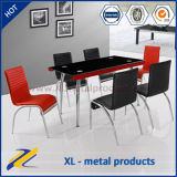 2016 Popular Tempered Glass Dining Table