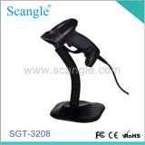 Portable Laser Barcode Scanner Handfree Scanner