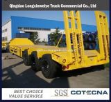 Heavy Duty 3 Axles Low Bed Transportion Semi Trailer
