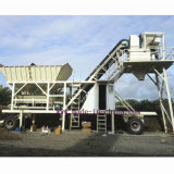 25m3/H Full Automatic Mobile Concrete Mixing Plant / Concrete Batching Plant