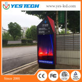 P4, P5mm LED Advertising Banner Stand Poster Board