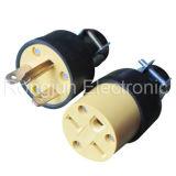 Connector Male Femal South America Socket Plug Rj-0019