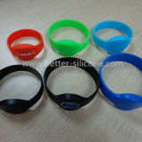 Elastic Smart RFID Silicon Wristband for Swimming Pool