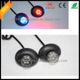 Red Blue LED Hide a Way Car Strobe Warning Lights