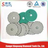 Stone Diamond Flexible Convex Resin Wet Polishing Pads