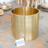 Customized Bronze/Brass/Copper Alloy Centrifugal Casting Bushing with Oil Groove in China