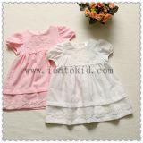 Smocked 100% Cotton Summer Girls Baby Dress for Infant