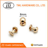 8mm Mushroom Accessories Iron Rivet for Fashion Garment/Bag/Shoe