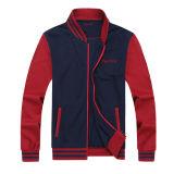 Full Zipper Varsity Men Embroidery Baseball Jacket