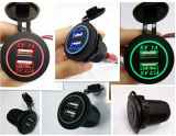 Dual USB Charger Socket Power Outlet 1A & 2.1A for Car Boat Marine Mobile