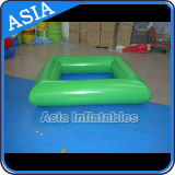 PVC Inflatable Swimming Pool, Solid Color Pool, Green Pool