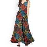 Wholesale African Designs Maxi Ladies Cotton Summer Beach Dresses for Women