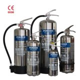 Stored Pressure ABC Dry Chemical Powder 40% Stainless-Steel Fire Extinguisher