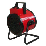 Portable Round Industrial Fan Heater with Stand and Wheels