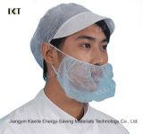 Food Industry Disposable Nylon Blue White Black Beard Cover