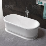 Sanitaryware Artificial Marble Stone Freestanding Hot Bath Tub