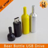 Beer Bottle Plastic Creative Promotional Gift USB Disk (YT-1136)