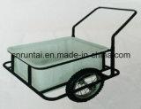 Hot Sell Air Wheel Metal Tray Tool Cart