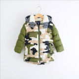 Fashion Cotton Camouflag Clothes for Kids Wear in Winter