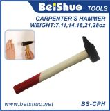 Carbon Steel Hammer with Wooden Handle