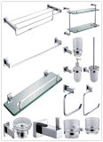 1400 Brass Washroom Accessories Set