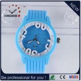 2015 Blue Charm Silicone Geneva Lady Watch (DC-804)