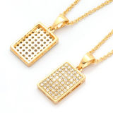 Fine Jewelry Micro Set 925 Silver Pendants Necklace Jewelry