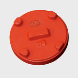 Ductile Iron Cap with International Standard Dimensions (FM/UL/CE)