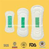 High Quality Disposable Anion Lady Sanitary Pad (GCare-155)
