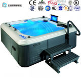 Ce Approved Hydro Massage 5 Person SPA Hot Tubs