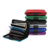 Mini Wallet Holder Pocket Waterproof Aluminum Business ID Credit Card Case Box
