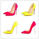 Elegant Multi Designs No MOQ Fashion High Heel Women Shoes White Stiletto Heel