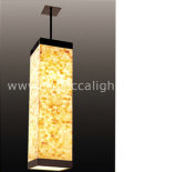 Pendant Light Made of Natural Mother of Pearl