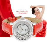 Stainless Steel Luxury Diamond Watch for Lady (YSS001)