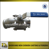 OEM 304 Stainless Steel Ball Valve Made by Investment Casting